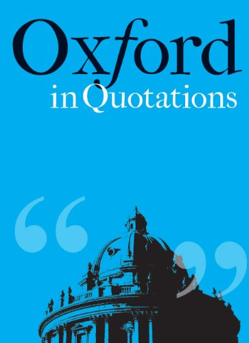 Oxford in Quotations por Violet Moller
