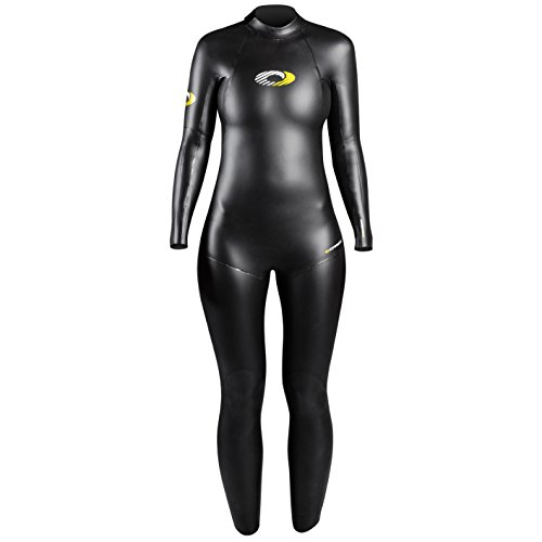 Osprey Womens Neoprene Full Length Triathlon Wetsuit Black Medium