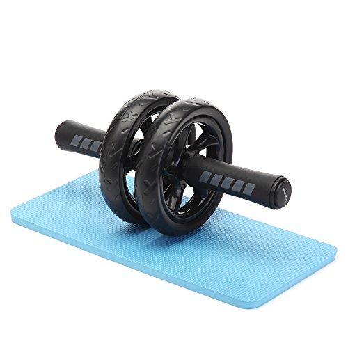 Readaeer Bauchtrainer AB Roller mit dicker Knieauflage beste Fitnessworkout für die Bauchmuskeln