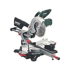 Metabo KGS216M 1500 W 240 V 216 mm Sliding Mitre Saw