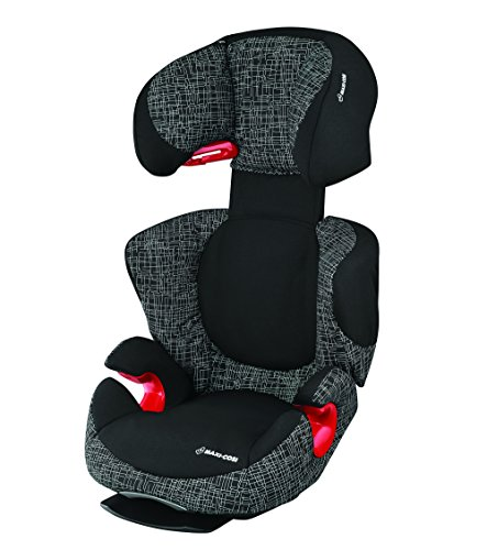 Maxi-Cosi Rodi AirProtect Black Grid, Kinderautositz, Auto-Kindersitz (Gruppe 2/3, 15-36 kg) schwarz