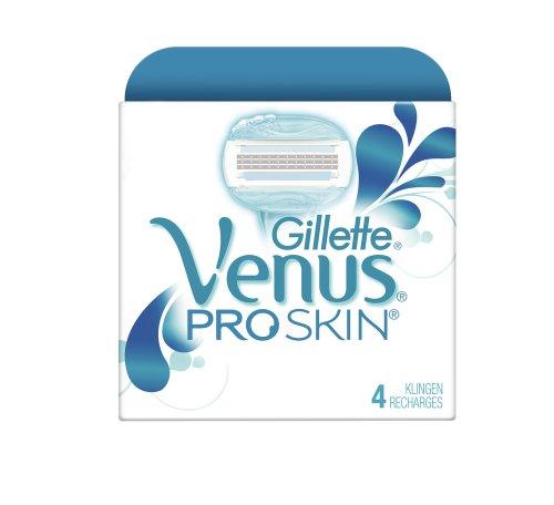 Auslaufmodell Gillette for Women Venus ProSkin Systemklingen 4er, 1er Pack (1 x 4 Stück)