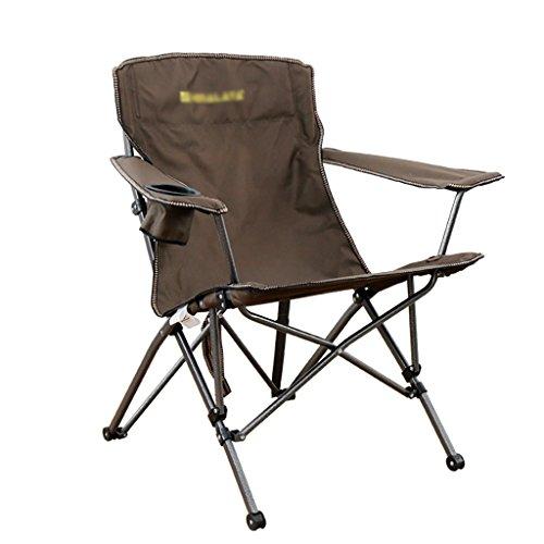Y HWZDY Camping klappstuhl Leichte, langlebige Outdoor-Sitz - Perfekt für Camping, Festivals, Garten, Caravan Trips, Angeln, Strand, BBQs