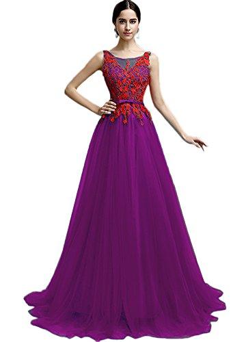 Vimans -  Vestito  - linea ad a - Donna Purple 2