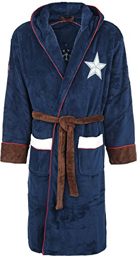 Captain america Logo Bademantel Multicolour Multicolour
