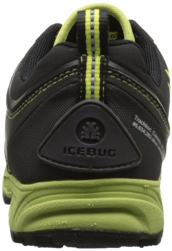 Icebug  PYTHO2 BUGrip® Black/Poison, Chaussures basses homme noir - Schwarz (Noir / Poison)