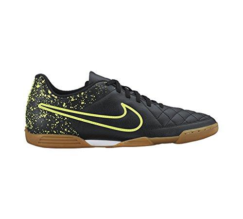 Nike Herren Tiempo Rio Ii Ic Fußballschuhe Schwarz / Grün (Schwarz / Schwarz-Volt)