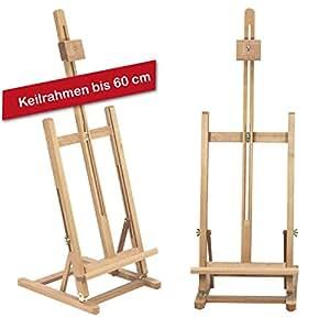 tischstaffelei t60 aus buchenholz fsc keilrahmen bis 60cm im hochformat sitzstaffelei h he und. Black Bedroom Furniture Sets. Home Design Ideas