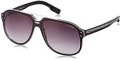 Tommy Hilfiger Gradient Square Mens Sunglasses - (7837 C1 59 S|59|Grey Color)