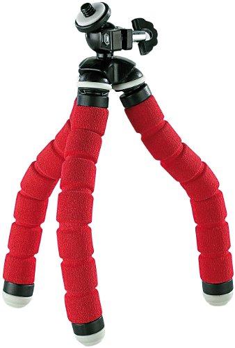 Somikon Ministativ: Ultraflexibles, superbiegsames Dreibein-Kamerastativ, klein (Tripod)