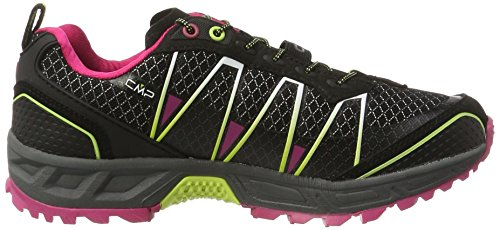 C.P.M. - Atlas, Scarpe da Trail Running Donna Nero (Nero-rasperry-acido)