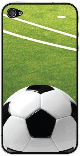 Cellet Soccer Skin für Apple iPhone 4/4S - Bildschirm Für 4 Sprint Iphone