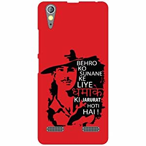 Lenovo A6000 Back Cover - Funny Designer Cases
