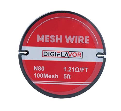 Digiflavor 100er Mesh Wire Ni80 1,5m Nickel Wire Mesh