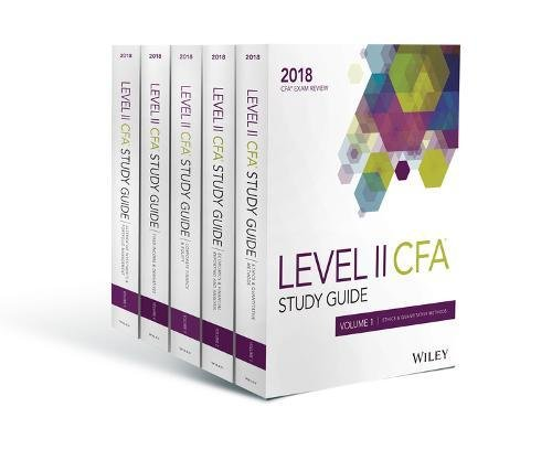 Wiley Study Guide for 2018 Level II CFA Exam: Complete Set (CFA Curriculum 2018) por Wiley