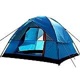 AYLS Zelt Double Layer Camping Zelt für 3-4 Personen mit Moskitonetz