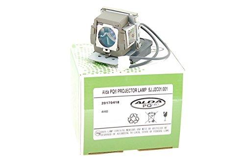Alda PQ Beamerlampe 5J.J2C01.001 für BENQ MP611, MP611c, MP620c, MP711, MP711c, MP721, MP721c, MP725X, MP726 Projektoren, Lampenmodul mit Gehäuse