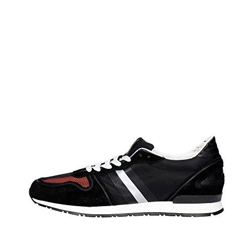 Serafini CAMP.97 Sneakers Uomo Camoscio NERO NERO 43