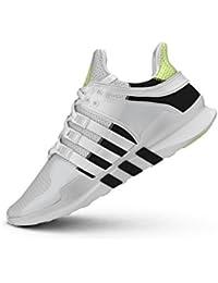 low priced 379ec edb5d Adidas Originals Equipment Support ADV - Zapatillas de Tela para Hombre  Multicolor Blanco Negro