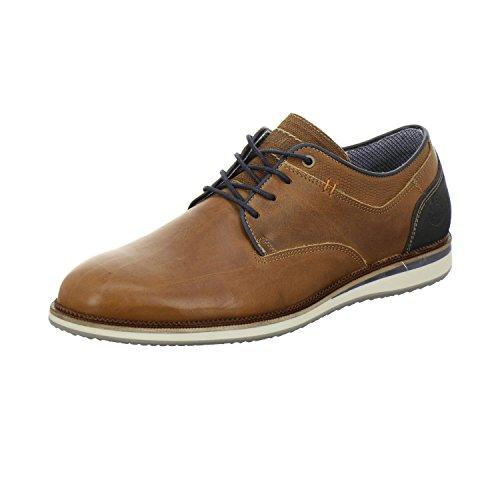 BULLBOXER 633 K2-5935A SU10 - Herren Schuhe Schnürer Sneaker - Coco, Größe:46 EU -