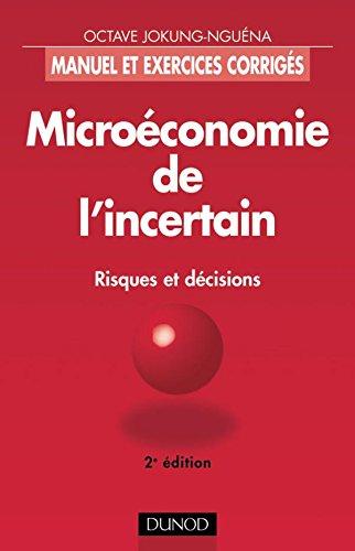 Microéconomie de l'incertain