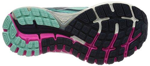 Brooks Adrenaline Gts 16, Chaussures de Running Compétition Femme Bleu (Bluetint/Pinkglo/Peacoat 418)