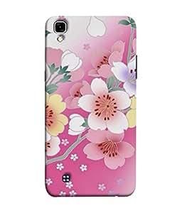 Fuson Designer Back Case Cover for LG X Power :: LG X Power K220DS K220 (Floral Supercute Pinkish School College Office Girls)
