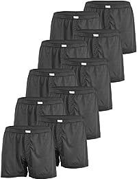 Versandhandel Henry Musch-Malinowski 10er Spar Pack Gentleman Herren  Boxershorts Schwarz Basic Unterhose BOX2- df02aa4efd