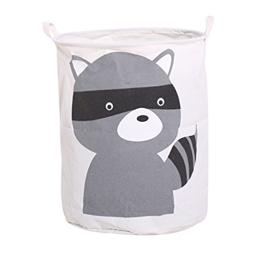 *Dooxi Multifunktionale Aufbewahrungssack Aufbewahrungskorb Faltbar für Spielzeug oder Wäschekorb Kinderzimmer*