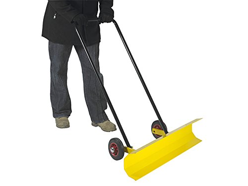 The Workplace Depot High Quality Snow Ploughs with Blades Yellow Manufactured from Steel
