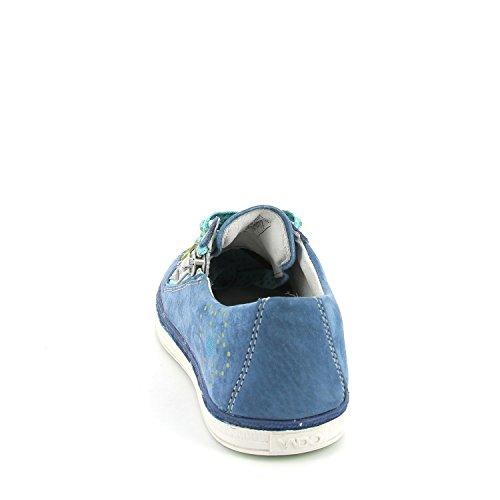Vado Mae 34301-118 Kinder Schnür-Halbschuh in Mittel True Blue
