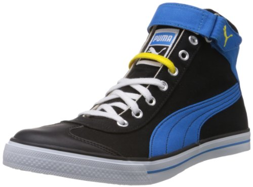 Puma Men's 917 Mid 2.0 Black Canvas Sneakers - 7 UK/India (40.5 EU)  available at amazon for Rs.1839