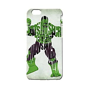 BLUEDIO Designer 3D Printed Back case cover for Apple Iphone 6/ 6s - G1463