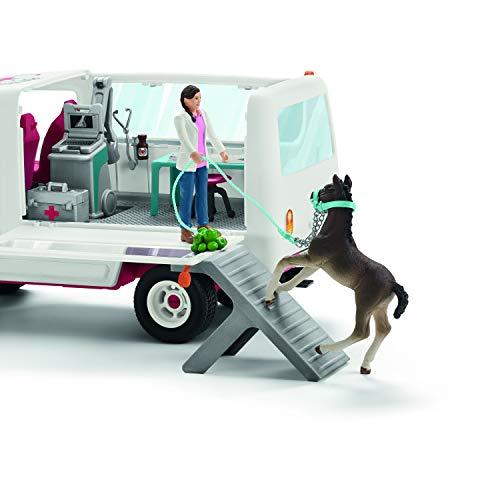 Schleich 42370 - Mobile Tierärztin mit Hannoveraner Fohlen - Big W Mobile