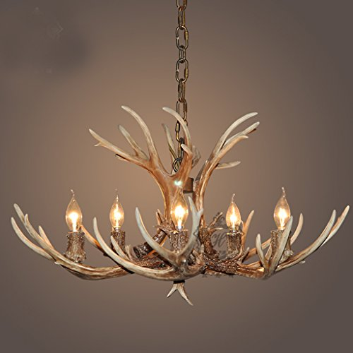New-American-clothing-store-antlers-chandelier-lamp-living-room-restaurant-bar-cafe-bars-Creative-Lighting-Size-No-Shade