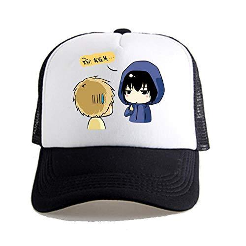 Maneray Unisex Baseball Cap Anime Cosplay Mesh Verstellbar Hut für Tennis Golf Laufen Wandern Reisen Angeln Lässig Hip Hop Snapback Kappe M3594