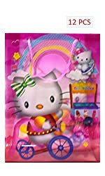 12-Pcs Disney Hello kitty Party Gift Bags Toys bag BAGS PARTY FAVOR BAGS GIFT BAGS