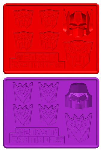 transformers-autobots-and-decepticons-silicon-mold-tray-2-piece-set