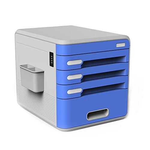 Schubladenbox Ablagefacher Utensilien Organisation Briefablage Holz Ordnungssystem Bankers Box Ablagebox Ordner Style Schreibtischorganizer Office Karteikarten Unterlagen Stehsammler Aktenablage Boxen Blau
