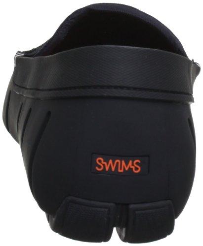 Swims Mens Penny Loafer Mens Penny Loafer Herren Slipper Schwarz (Black)