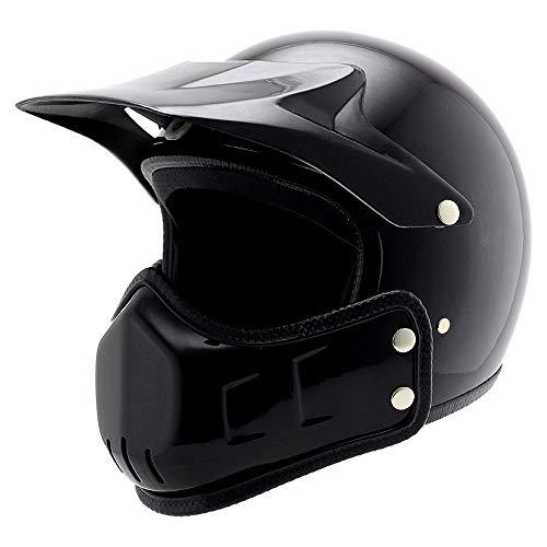 Preisvergleich Produktbild LP Haar Retro-3 / 4 halben Helm voll Helm Cross-Country Helm Multi-Use Helm Persönlichkeit Motorrad-Helme