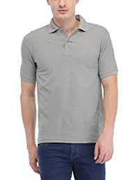 Trendy Trotters LightGrey Polo Cotton T-Shirt