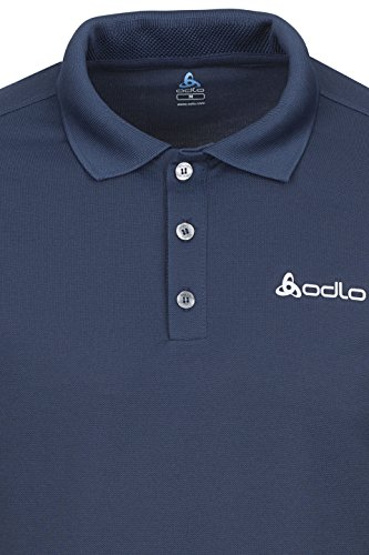 Polo Shirt S/S Richard - Odlo - navy new Schwarz