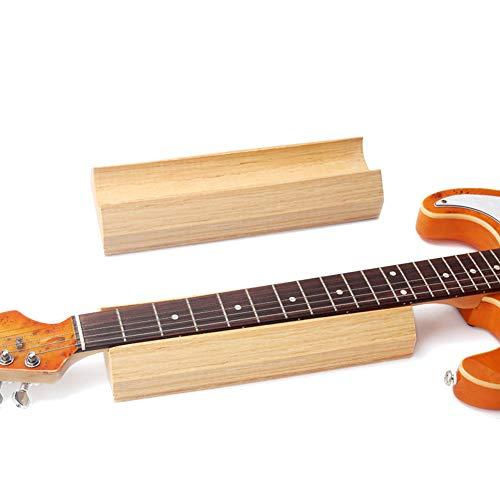 Romdink Gitarren-nackenstütze Caul-unterstützung Für Gitarrenbauer-griffbrettwerkzeuge, Eva-kunststoffschaum, 11,8 X 3,9 X 2,0 Zoll -