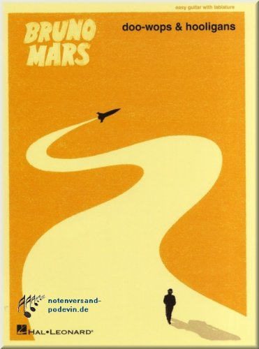 Preisvergleich Produktbild Bruno Mars - Doo-Wops & Hooligans - Easy Guitar - Gitarrenoten [Musiknoten]