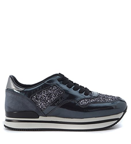Sneaker Hogan 222 Nuovo Sportivo con paillettes grigio Grigio