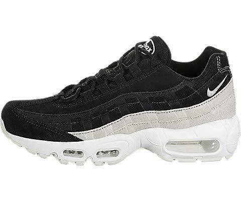 best sneakers 42af8 eb661 Nike WMNS Air Max 95 PRM, Black   Spruce Aura-summit White, 35.5
