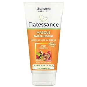 Natessance Masque Capillaire Embellisseur à l'Argan Bio 150 ml