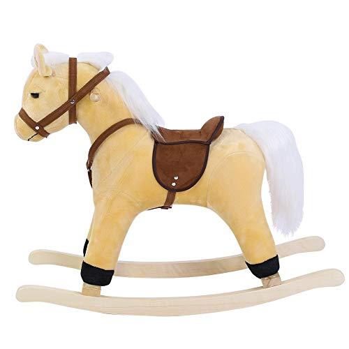 Importado de Alemania Bast/ón con cabeza de caballo de peluche small foot company 4151