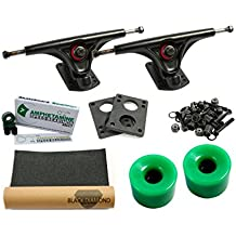 Amok Rocker 180 black Basic Longboard ejes Set
